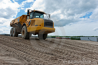 Excavation truck