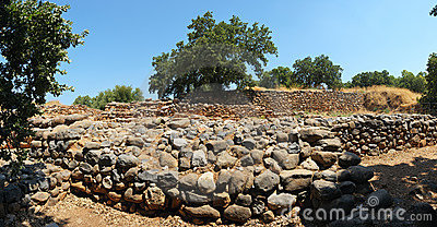 Excavations of the ancient city
