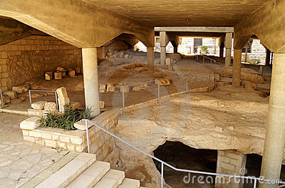 Excavations of ancient settlements
