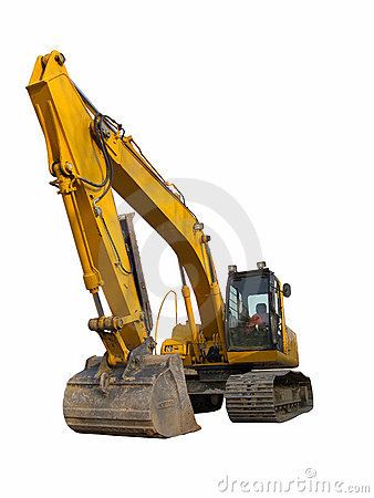 Free Excavator Royalty Free Stock Image - 4925386