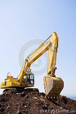 Free Excavator Royalty Free Stock Photography - 5387447