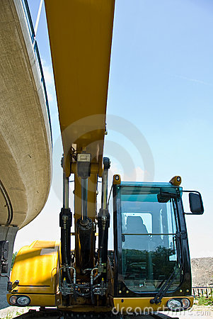 Free Excavator Stock Image - 5886211