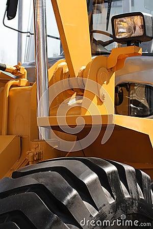 Free Excavator Detail. Royalty Free Stock Photos - 13902208