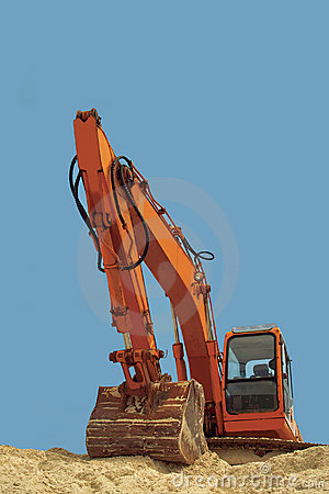 Excavator. Power and confidence.