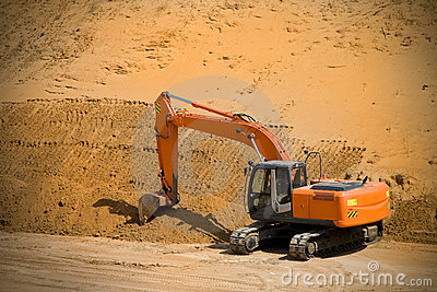 Excavator, power shovel