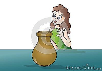 Excelent vase