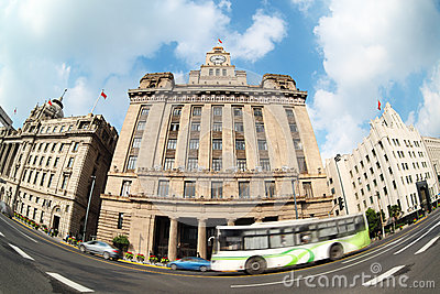 Excellent historical buildings in shanghai