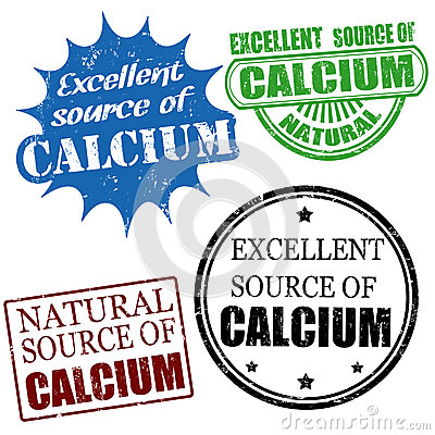 Excellent source of calcium stamps