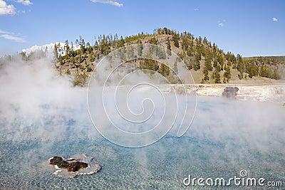 Excelsior geyser pool