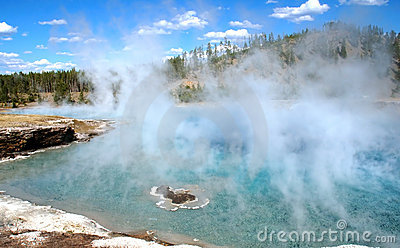 Excelsior Geyser Steam