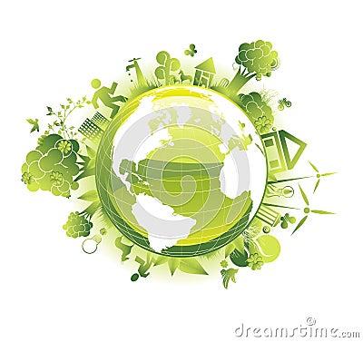 Excepto el concepto de la ecología del planeta