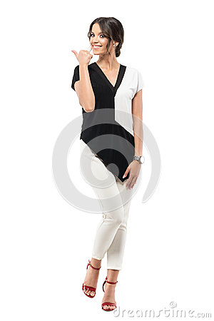 Free Excited Cheerful Pretty Business Woman In Suit Showing Thumb Up Hand Gesture. Royalty Free Stock Photos - 99227608