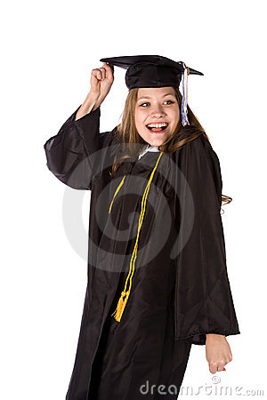 Excited to graduate