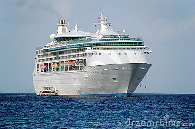 Exciting vacation on board a cruise ship