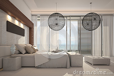 Exclusive Design Bedroom | 3d Interior architecture