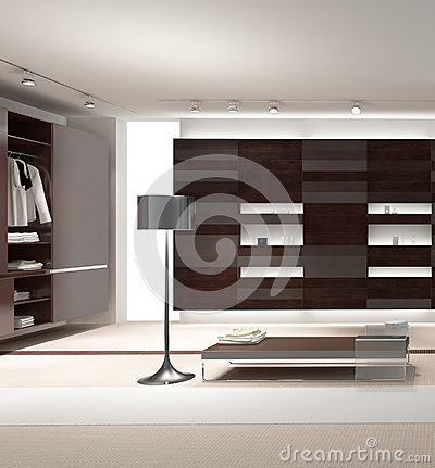 Exclusive Design Bedroom with wardrobe