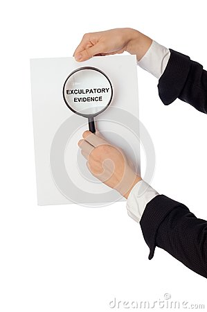 Exculpatory evidence