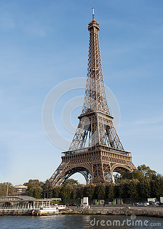 Excursion Eiffel à Paris Image stock - Image: 27563691