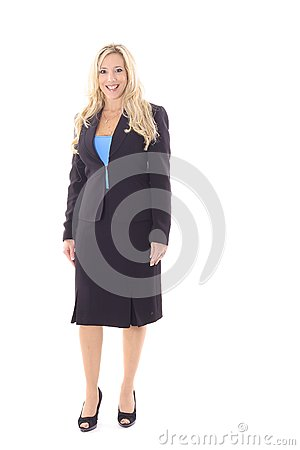 Executive business woman in suit