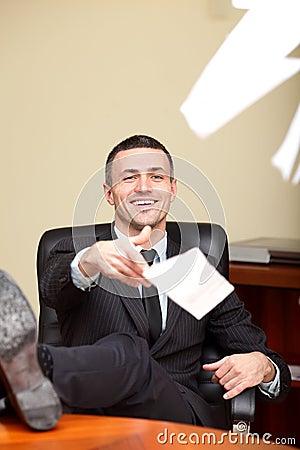 Executive mature businessman