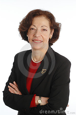 Free Executive Senior Woman Corporate Stock Image - 503431