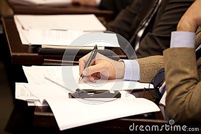 Executive writing