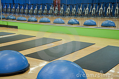 Exercise balls, mats and spin cycles
