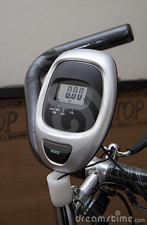 Exercise Bicycle meter