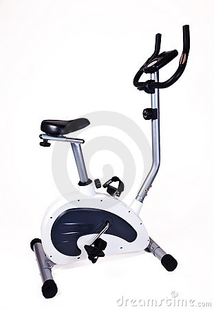 Exercise Bike Stock Photography - Image: 21406162