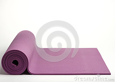 Exercise mat.