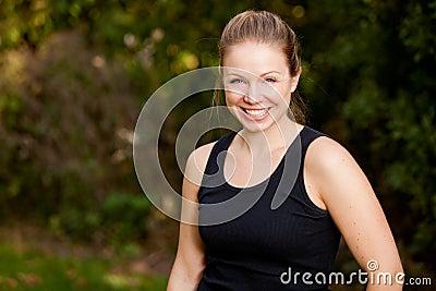 Exercise Potrait Woman