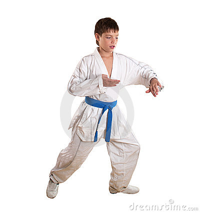 Exercise on taekwondo