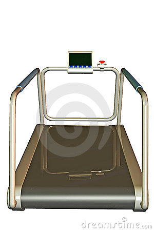 Exercise treadmill machine