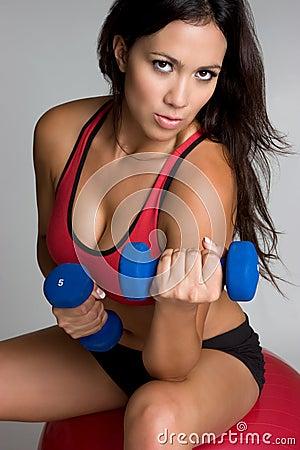 Exercising Girl