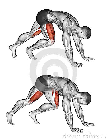 Free Exercising. Mountain Climbers Royalty Free Stock Photography - 66857037