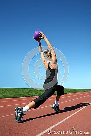 Free Exercising Woman Stock Photo - 3747250