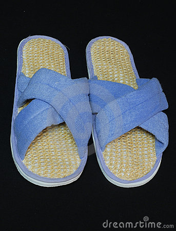 Free Exfoliating Slippers Stock Images - 3749894