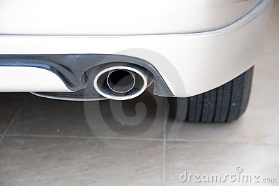 Exhaust pipe car