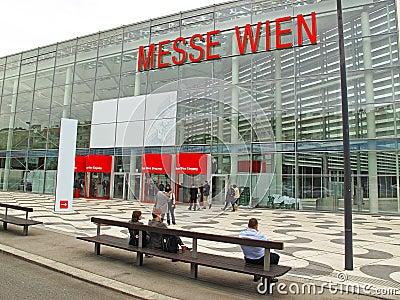 Exhibition center Vienna Editorial Image