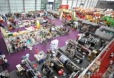 Exhibition fair Editorial Photo