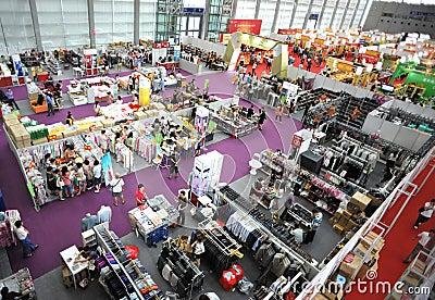 Exhibition fair Editorial Photo