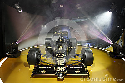 F1 Lotus JPS 98T, 1986 Editorial Photo