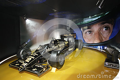 F1 Lotus JPS 98T, 1986 Editorial Photography