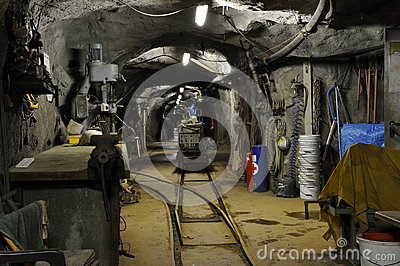 Exhibition and Research Mine Schauinsland, Germany Editorial Stock Image
