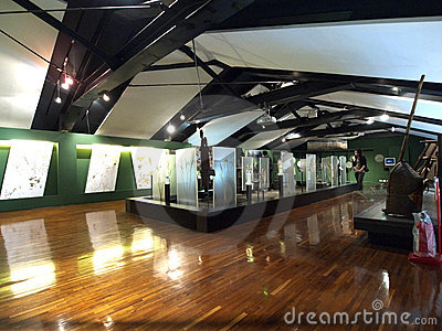 Exhibition of National Taiwan Museum Editorial Photo