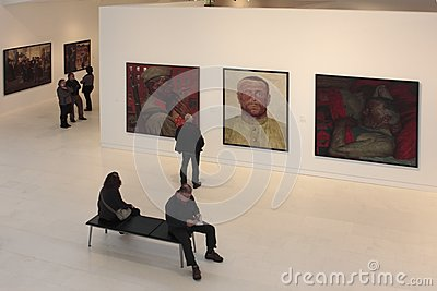 Exhibition The Soviet Myth in the Drents Museum in Assen Editorial Stock Image