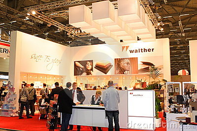 Exhibition Stand at Photokina 2008 Editorial Image
