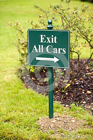 Exit all cars