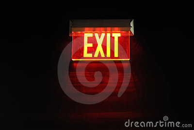 Exit from the Dark