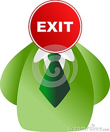 Exit face
